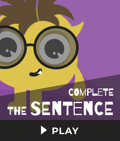 Complete The Sentence Fair Trade Games