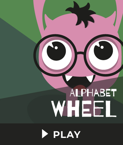 Alphabet Wheel Fair Trade Games