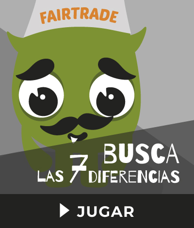 Busca las 7 diferencias Fair Trade Games